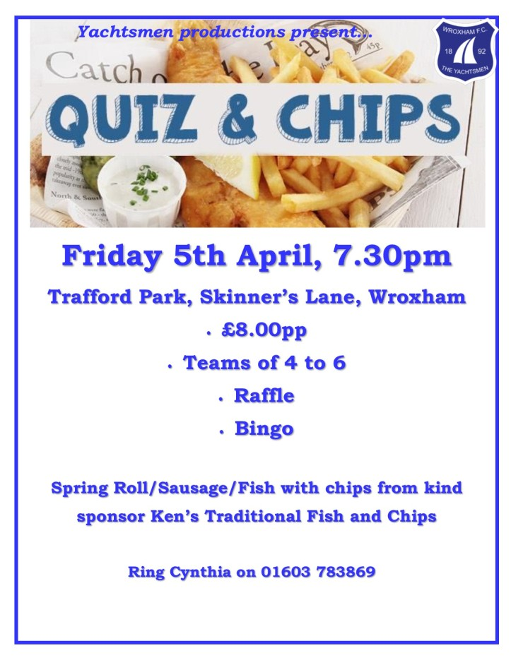 quiz and chips